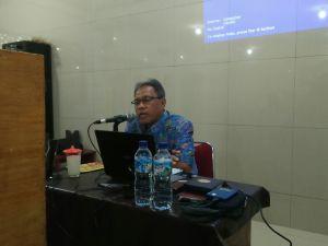Drs. Winoto, M.Pd memberikan sosialisasi hasil MUNAS LDII VIII